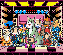 Super Bomberman 3 - Ending  - Completed the game - User Screenshot